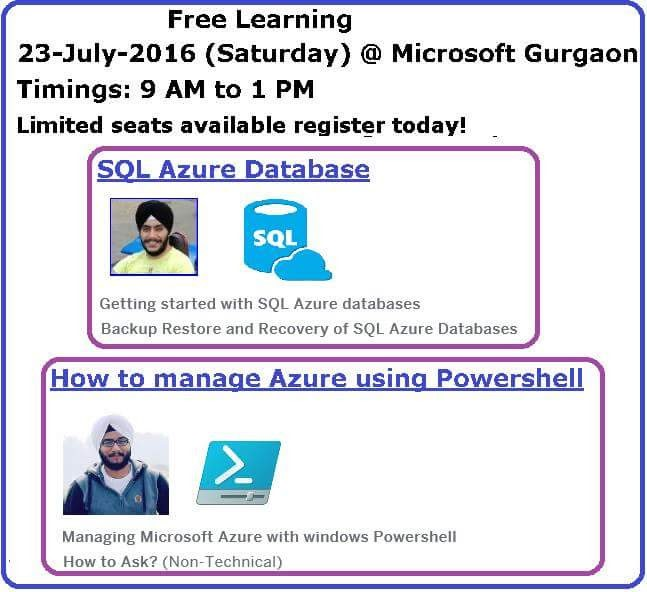 Azure Event July 2016