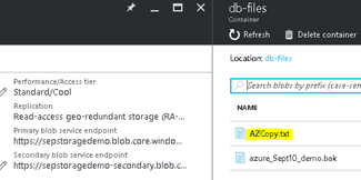 AZCopy to upload or download Azure SQL Database export - SQLChamp