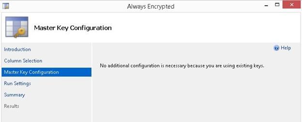 Always Encrypted step 6