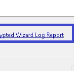 Always Encrypted Wizard Log Report