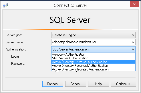 Active Directory Universal Authentication